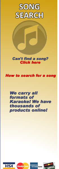 song search for 800 karaoke